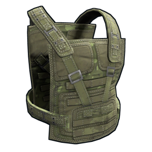 Forest Raiders Metal Chest Plate